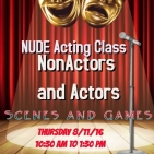newest nude acting poster
